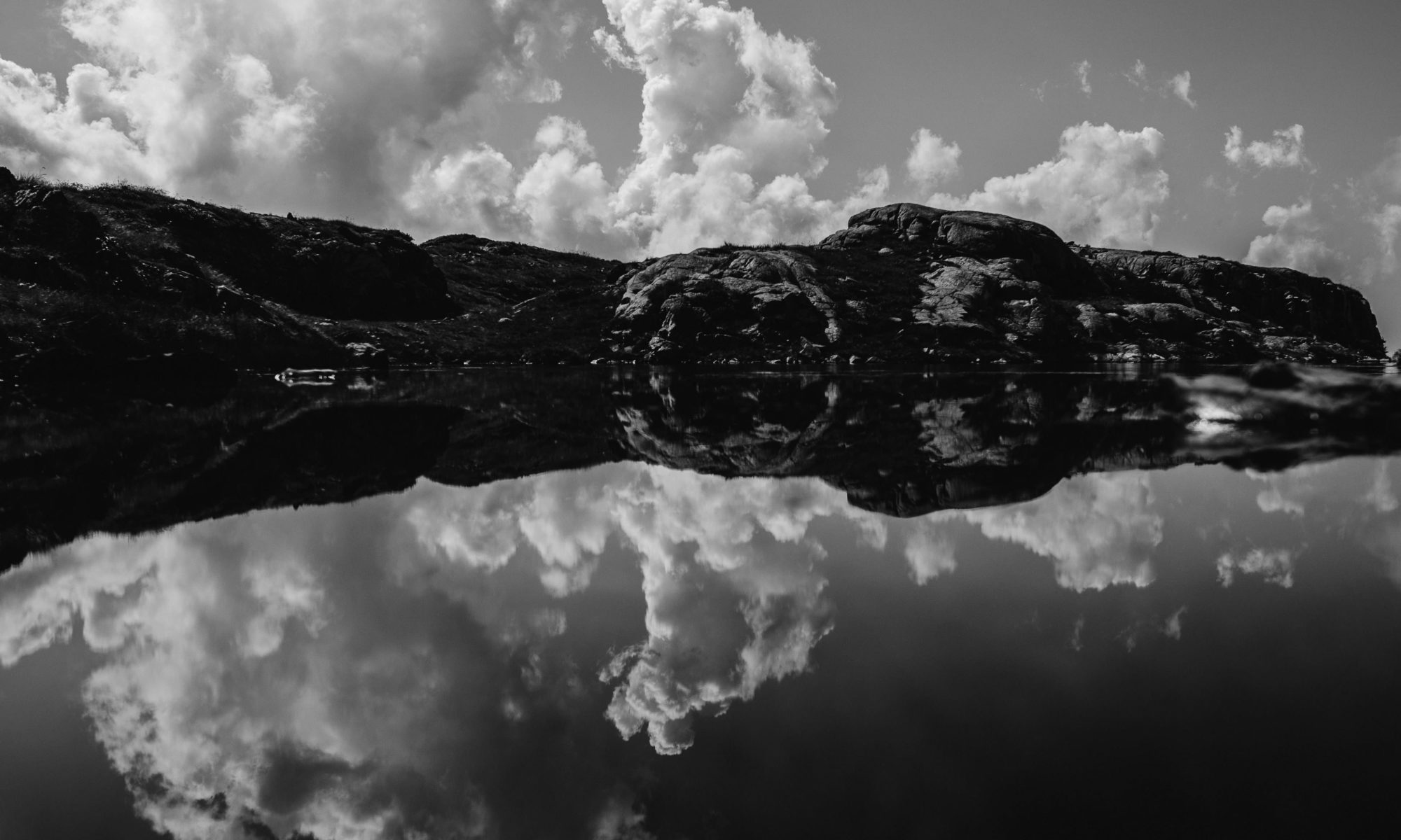 Réflexion dans un lac - Ariège